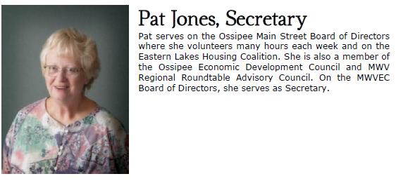 Pat Jones sectr